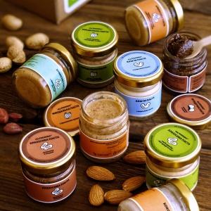 Набір горіхових паст «Знайомство», 9 штук